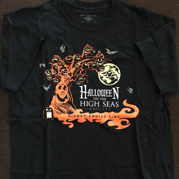 disney cruise line halloween tshirt